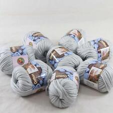 8BallsX50g Special Thick Worsted 100% Cotton Hand Knitting Yarn Soft Sage 422-34