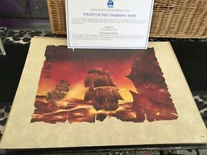 """Disney's 'Pirates of the Caribbean' Limited Edition Lithograph - 11.5"""" x 14"""""""
