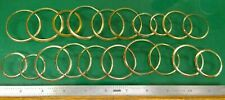 Gold Filled Pocket Watch Bezel Ring Lot - Watchmaker Replacement Parts