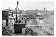 bb0338 - Bishop Auckland Railway Station , Durham in 1965 - photograph