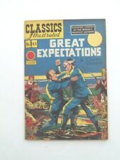 Classics Illustrated #43 - GREAT EXPECTATIONS - HRN 62 VGFN