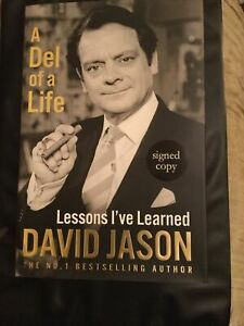 David Jason,a Del Of A Life,lessons I've Learned,signed Copy Book Autobiography