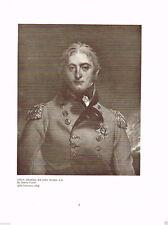 Lieut.-General Sir John Moore, K.B. 1909 Antique British Military Print
