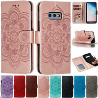 Mandala Wallet Leather Flip Case Cover For Samsung S10 S9 A10S A20 A30S A50S A51
