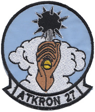 Attack Squadron 27 VA-27 United States Navy USN Embroidered Patch