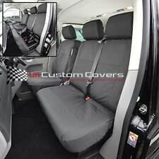 VW TRANSPORTER T5 T26 T28 T30 T32 TAILORED WATERPROOF SEAT COVERS  2003 ON 103