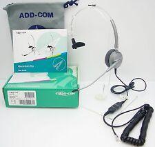 ADD100-01 Headset for Avaya Toshiba Polycom Nortel Mitel NEC Aspire Hybrex Ascom