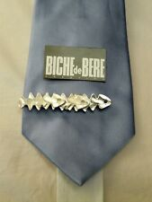 BICHE DE BERE pince a cravate argentée PAC3