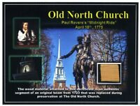The Old North Church - Genuine Piece of a Wood Beam From the Old North Church!