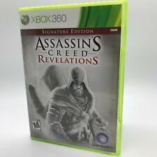 Assassin's Creed: Revelations -- Signature Edition (Microsoft Xbox 360, 2011)
