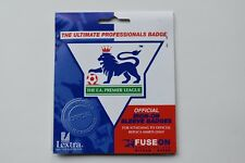 OFFICIAL EPL 01/02 CHAMPION, PLAYER ISSUE LEXTRA PATCH (ARSENAL)