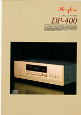 Faltblatt Prospekt Accuphase DP-400  B590
