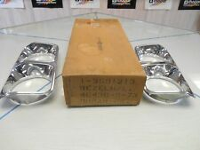 1974-78 Chrysler head light bezels Left and Right NOS MOPAR P/N's # 3691212/1213