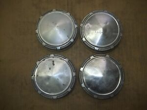 """Dodge Plymouth Center Hub Cap Hubcap Rim Cover POVERTY DOG DISH 9"""" USED SHINNY 4"""