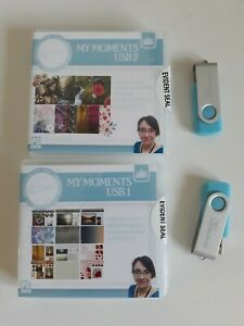 My Craft Studio Signature Collection My Moments Vols1 & 2 USBs