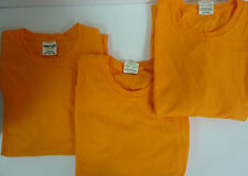 Lot of 3 Tennesee Orange Hi-Vis High Visibility Cotton T Shirt XXL