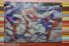 Paul Smith PS BLURRED CYCLIST Credit Card Holder NEW