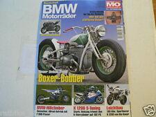 BMW MOTORRÄDER MOTORRAD SONDERHEFT MO NO 26 BOXER BOBBER,HILLCLIMBER,K1200 S,S10