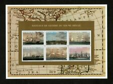 VINTAGE CLASSICS - Mali 1996 - Bateaux-Guerre, Ships - Sheet of 6 Stamps - MNH
