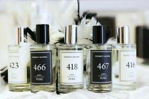 Federico Mahora FM World Men's Fragrances 50ml Designer Fragrances High Quality