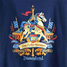 New Disney Parks King Arthur's Carrousel 60th Anniversary LE T-shirt Ladies Sm