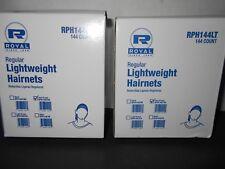 Royal Rph144Ltdb LightWeight Dark Brown Hairnet Latex Free 2/144-Pks= 288 total