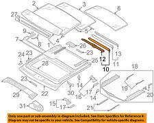 AUDI OEM 06-13 A3 Sunroof Sun Roof-Sunshade Shade Cover 8P487730778W