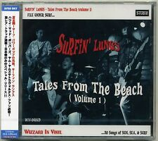 Surfin' Lungs - Tales From The Beach (Volume 1) CD JAPAN PRESS Surf Barracudas