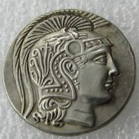 Ancient Greek King Alexander the Great Silver Tetradrachm Coin 336-323 BC ooak