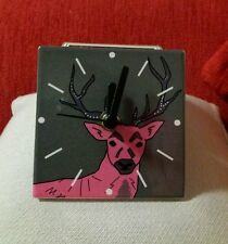 small stag clock