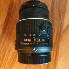 Nikon Lente AF-S NIKKOR VR 18-55mm 1:3.5-5.6GII DX