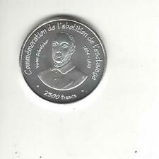 Togo 2500 Francs 2007, Slave Liberation, Essai Silver Coin, only 850 minted!
