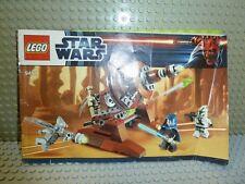LEGO® Star Wars Bauanleitung 9491 Geonosian Canon BA ungelocht