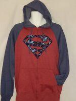 NEW Superman movie Justice League Hoodie Sweat Shirt Men's Jacket Coat M L XL