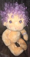 "VINTAGE Kenner 1985 Hugga A Bunch Purple IMPKINS 17"" Plush Doll"