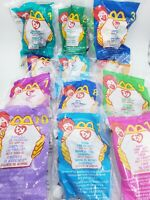 TY Teenie Beanie Babies McDonalds 1999 Complete Set #6 OPENED