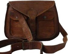 Dokota  Womens Genuine Leather Brown Handbag Shoulder Bag Satchel Messenger