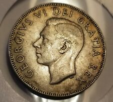 1948 Canada Key Date George VI 50 Cents  Collector Coin HIGH GRADE CONDITION