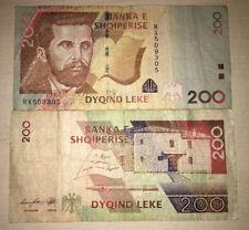 ALBANIA 200 LEKE 2012 DYQIND BANKA E SHQIPERISE NAIM FRASHERI RARA DA COLLEZIONE