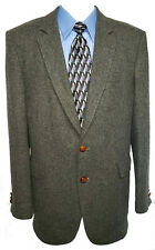 Vintage Jordache Men's Wool Jacket Blazer  Gray  44L