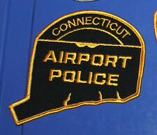 CONNECTICUT AIRPORT POLICE CT PD patch FAA patch #1