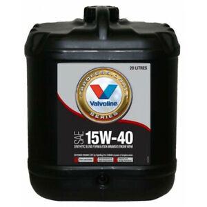 Valvoline Semi Synthetic VPS Engine Oil 15W-40 20L 1284.2 fits Jensen S-V8 4....