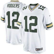 NFL Men's Jersey Green Bay Packers Aaron Rodgers Football XXL Ltd Away White