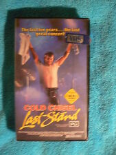 COLD CHISEL-LAST STAND- VHS Video-1984 Wired Music/CEL Oz issue- C802100