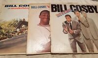 Lot of 3 Billy Cosby Vinyl Record LPs Revenge / Wonderfulness / Why is There Air
