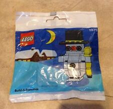 Lego Christmas 1979 Build A Snowman NEW Factory sealed in Poly Bags