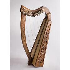 EMS Pixie Celtic Harp 19 Nylon String Rosewood Harp **NEW**
