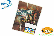 THE BOURNE IDENTITY Limited Edition Steelbook Blu Ray + DVD + Digital Copy NEW