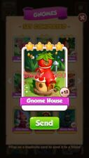 X1 Gnome House Coin Master trading card !!!Super Fast Dispatch!!!
