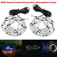 RGB 40 LED Sound Control Decorative Atmosphere Lamp Turn Signal Flash Boot Light